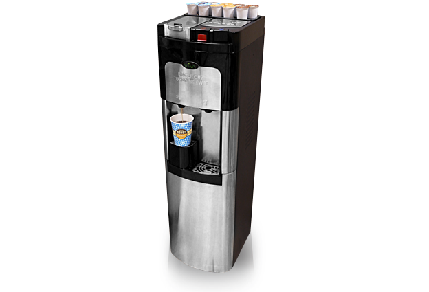 Water Cooler Coffee Maker Combo : R & R Vending, Inc. Services Office Coffee Breakrooms Commercial Laundry K Cup ...